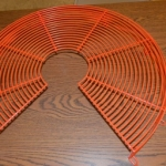 Fan Guard Wire Formed - Orange