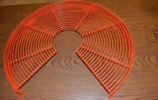Fan Guard Wire Formed - Orange