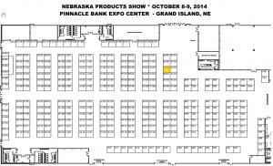 Nebraska Products Show in Grand Island, NE Booth Information