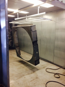 Powder Coat Industrial Equipment